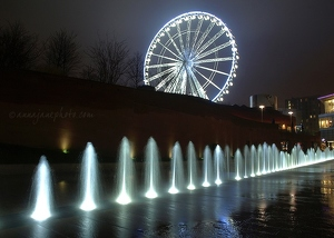 Wheel & Fountain