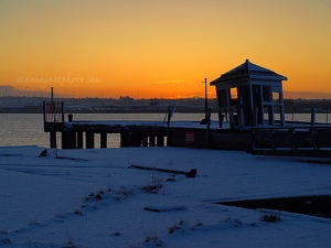 Snowy Prices Jetty