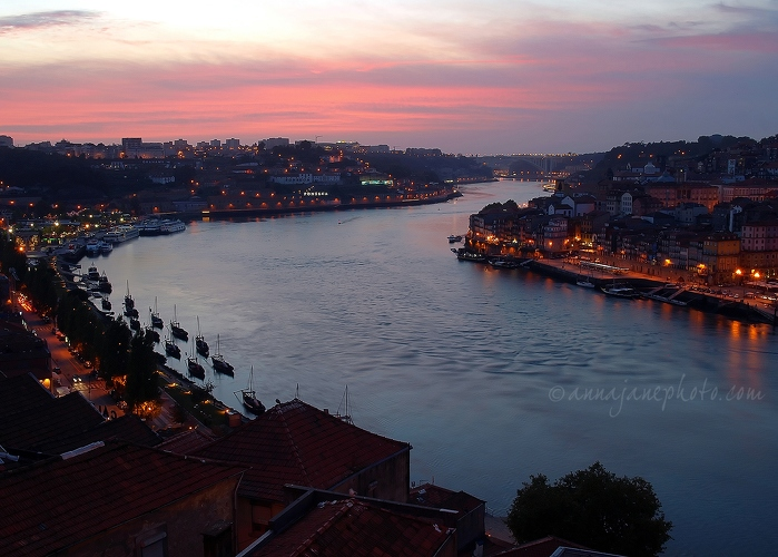 Douro Sunset - 20110910-river-douro-sunset.jpg - Anna Nielsson