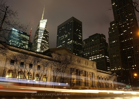 Bank of America Tower & New York Public Library