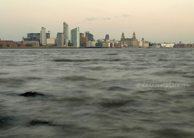 Liverpool from Egremont Ferry
