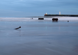 Aberdeen Beach at Dusk