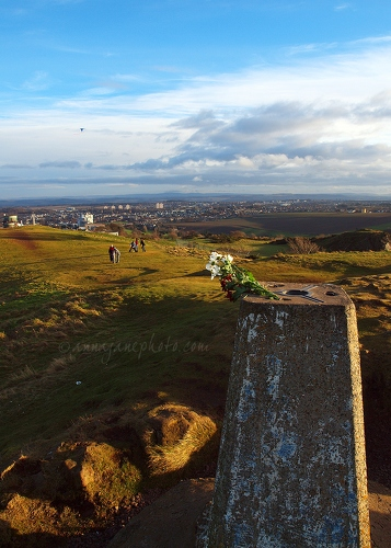 Blackford Hill Trig Point - 20121225-blackford-hill-trig-point.jpg - Anna Nielsson