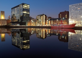 Canning Dock Reflections