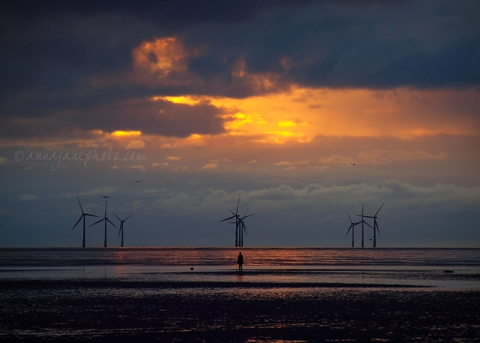 Three - 20130317-crosby-beach-sunset.jpg - Anna Nielsson