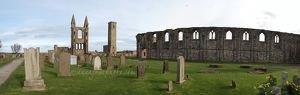 St Andrews Cathedral Panorama