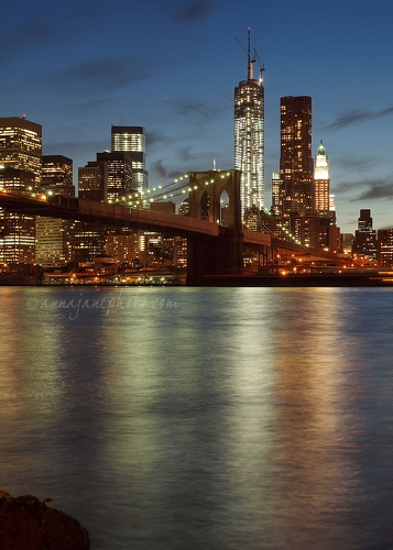 Brooklyn Bridge & Manhattan - 20130517-brooklyn-bridge-manhattan-portrait.jpg - Anna Nielsson