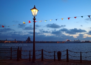 River Mersey Bunting and Love Locks