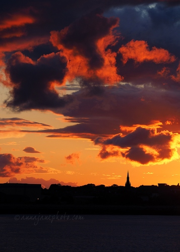 Sunset Over Birkenhead - 20140802-birkenhead-sunset.jpg - Anna Nielsson