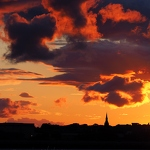 Sunset Over Birkenhead