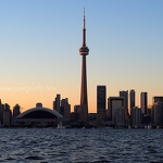 Toronto at Sunset