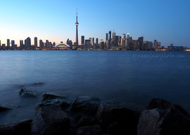 Toronto Waterfront at Dusk
