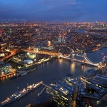 View from the Shard (North-East)