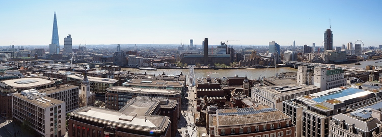View from St Paul's Cathedral - 20150414-view-from-st-pauls-cathedral.jpg - Anna Nielsson