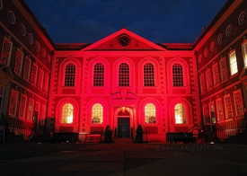 Bluecoat in Red