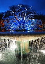 Chihuly Fountain Sculpture