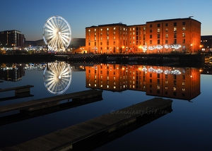 Salthouse Dock Reflections