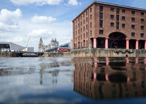 Albert Dock in June