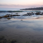 Rock Pools at Sunset