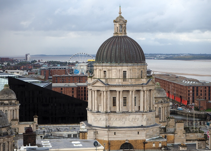 Port of Liverpool from Liver Building Roof - 20170909-port-of-liverpool-building.jpg - Anna Nielsson