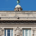 Cunard Building and Liver Bird