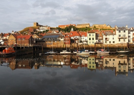 Whitby Harbour Reflections
