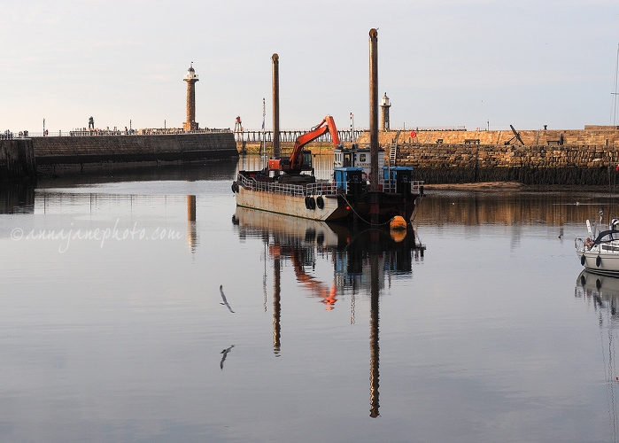 Whitby Harbour Reflections - 20180721-whitby-harbour-reflections.jpg - Anna Nielsson