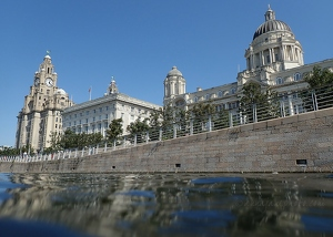 Pier Head from Canal Link