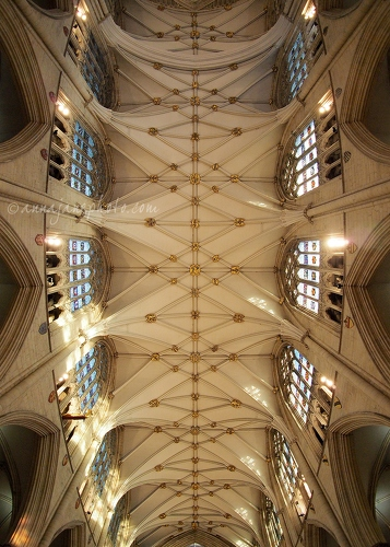 York Minster Ceiling - 20141225-york-minster-ceiling.jpg - Anna Nielsson